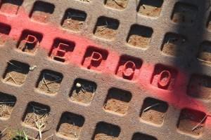 Pepco manhole cover