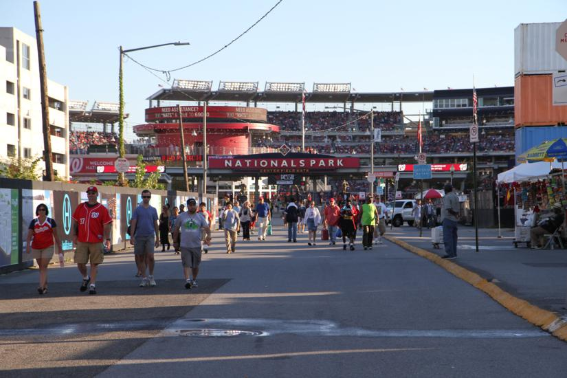 Nationals Park and Half Street