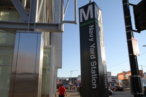 Navy Yard Metro station