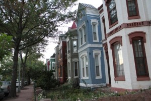 Historic rowhouses
