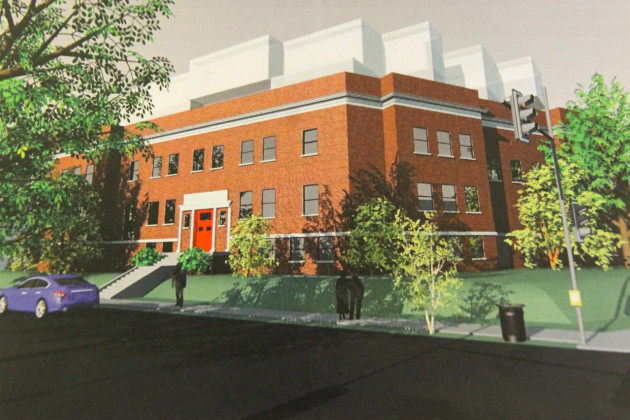 Dantes Partners' rendering for redevelopment of the Eastern Branch Boys and Girls Club Building