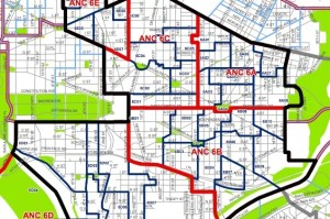 Ward 6 Map (Photo via Office of ANCs)