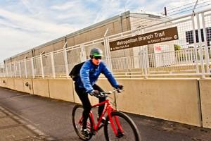 Cyclist (Photo via NoMA BID)