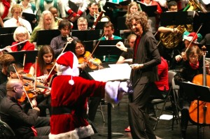 Holiday singalong (Photo via Capital City Symphony)