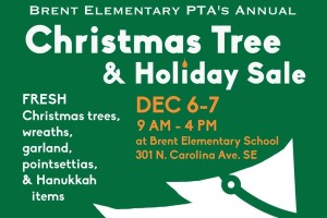 Christmas Tree Sale (Photo via Facebook/Robert Brent Elementary School)