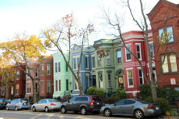 Houses on F Street NE