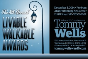 Livable, Walkable Awards (Photo via TommyWellsWard6.com)