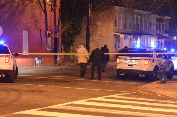 18th Street NE crime scene (Photo by Tom Yeatman)