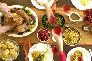 Thanksgiving table (Photo via Flickr/inafrenzy)