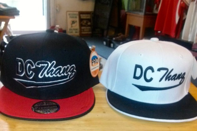 DC Thang hats at Capitol Hill Sporting Goods & Apparels (Photo via Facebook/Capitol Hill Sporting Goods)