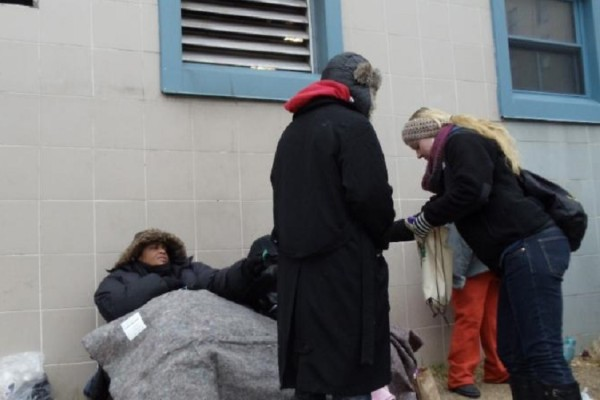 Homeless outreach (Photo courtesy of Capitol Hill Group Ministry)