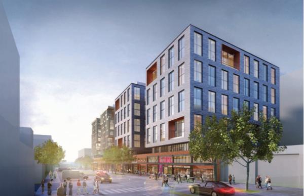 Development proposed for 1270 4th St. NE (Photo via Edens)