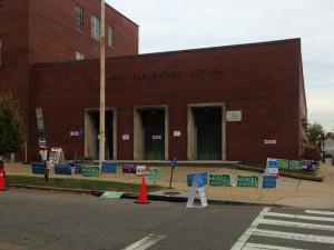 Van Ness Elementary School earlier this month