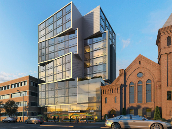 1005 North Capitol St. NE Project (Photo courtesy of Sorg Architects)