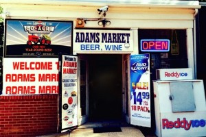 Adams Market (Photo via AdamsMarketDC.com)