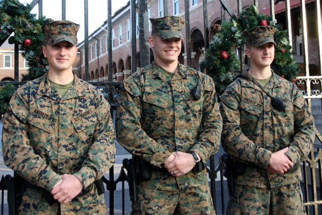 How to meet marines