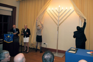 Menorah lighting (Photo courtesy of Capitol Hill Business District)