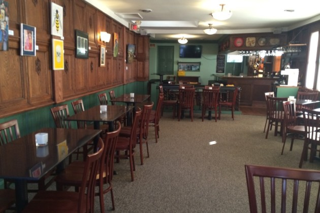 Mr. Henry's second-floor renovations feature redone wood paneling (Photo by Jessica Estepa)
