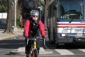 Cyclist (Photo via Flickr/Washington Area Bicyclist Association)
