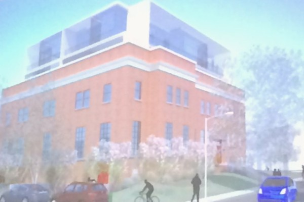 Eastern Branch Boys and Girls Club rendering, Dantes Partners