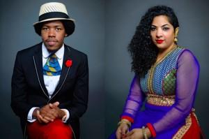 Christylez Bacon and Nistha Raj (Photo via Facebook/Atlas Arts)