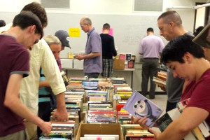 Book sale (Photo via Facebook/Friends of the Northeast Library)