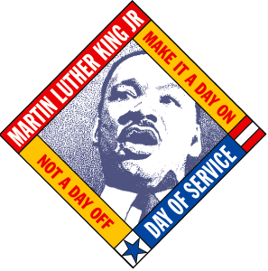 Martin Luther King Jr. Day of Service (Photo via NationalService.gov)