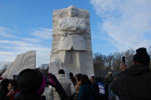 Martin Luther King Jr. memorial (Photo via Flickr/afagen)