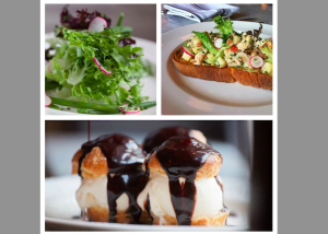 Menu items at Béarnaise (Photo via Facebook/Bernaise Restaurant)