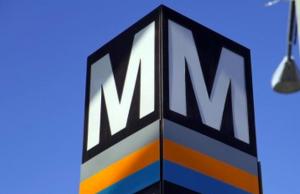 Silver/Orange/Blue Line Metro station