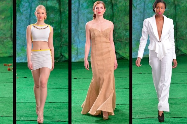 "Clothes by ""next generation"" designers (Photo courtesy of D.C. Fashion Week Inc.)"