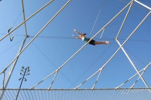 Trapeze school (Photo via Trapeze School New York - Washington DC/Rich Riggins)