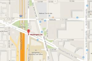 I-395 and Massachusetts Avenue NW (Image via Google Maps)