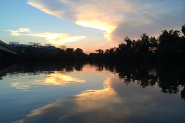 Anacostia River (Photo via Facebook/11th Street Bridge Park)