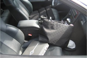 Items left unattended in a car (Photo courtesy of Samantha Nolan)