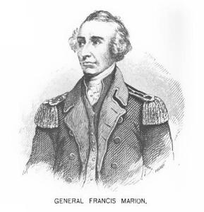 Francis Marion (Image via Wikimedia Commons/public domain)