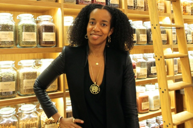 Souk owner Winnette McIntosh Ambrose