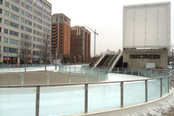 Canal Park ice rink