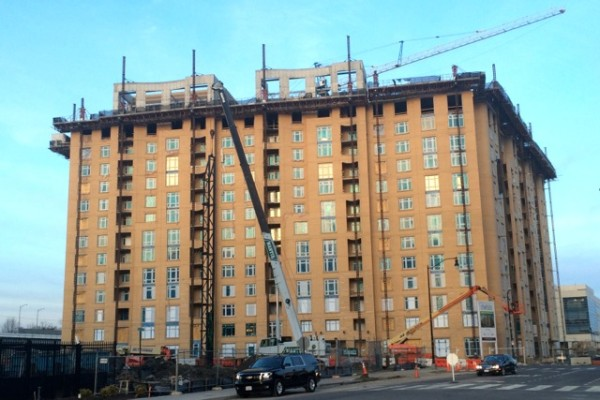 Park Chelsea Apartments building, 880 New Jersey Ave. SE, March 9, 2015