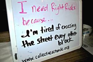 RightRides (Photo via Facebook/Collective Action for Safe Spaces)