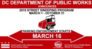Street sweeping (Image via DPW)