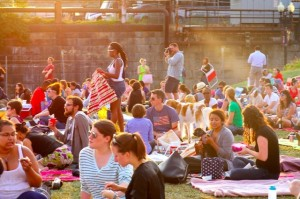 NoMa Summer Screen (Photo via Flickr/NoMaBID)