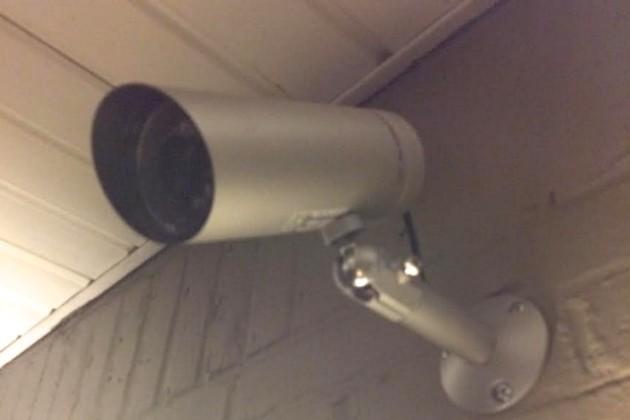 Security camera (Photo courtesy of David Heyman)
