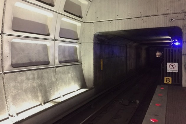 Potomac Avenue Metro station, March 13, 2015