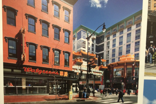 Chinatown building at 7th and H streets NW restored by CAS Riegler
