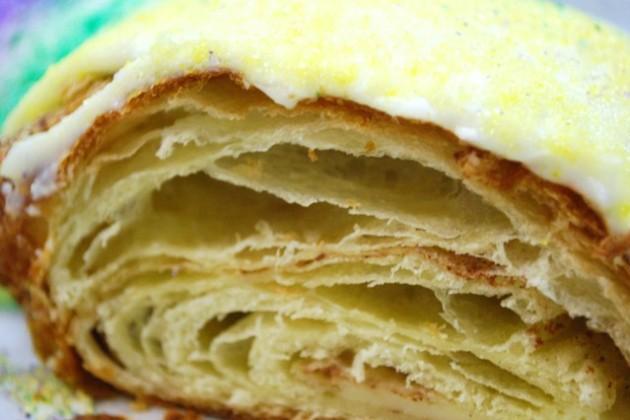 King cake (Photo via via Facebook/Bayou Bakery)