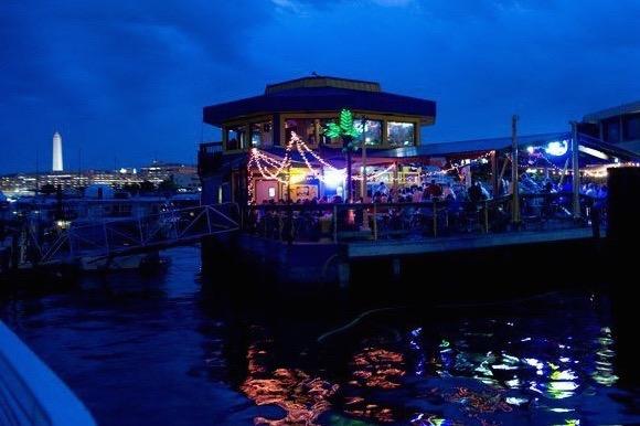 Cantina Marina at night (Photo via Facebook/Cantina Marina)