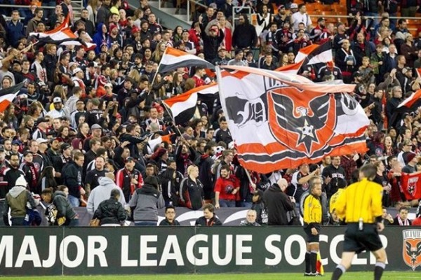 D.C. United fans (Photo via Facebook/D.C. United)