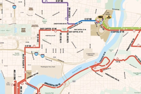 Race map (Photo via Competitor Group Inc.)