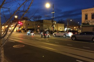 H Street NE ATV and dirt bike riders on March 12, 2015